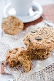 Delicious hand made cookies Stock Images