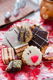 Delicious hand made cookies Royalty Free Stock Photography