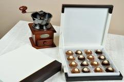 Delicious hazelnut chocolate Royalty Free Stock Images