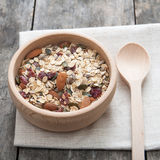 Delicious and healthy cereal Royalty Free Stock Photography