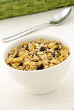 Delicious and healthy granola Stock Image