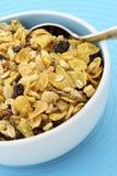 Delicious and healthy granola royalty free stock photos