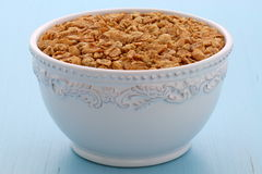 Delicious and healthy granola cereal Royalty Free Stock Photo