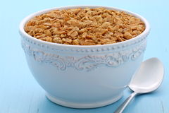 Delicious and healthy granola cereal Stock Photo