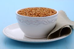 Delicious and healthy granola cereal Stock Image