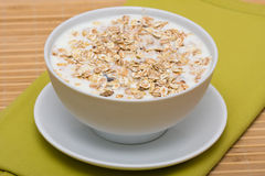 Delicious and healthy granola or muesli Stock Photo