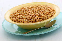 Delicious and healthy honey nuts cereal Royalty Free Stock Image