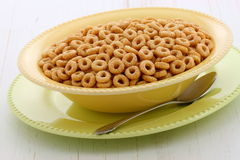 Delicious and healthy honey nuts cereal Stock Image