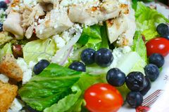 Delicious healthy meal close up Stock Images