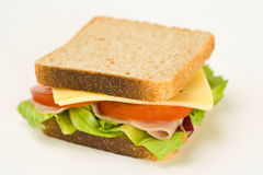 A delicious and healthy sandwich Royalty Free Stock Images
