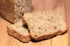 A delicious and healthy whole grain bread Stock Images