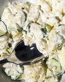 Delicious home made potato salad Royalty Free Stock Photography