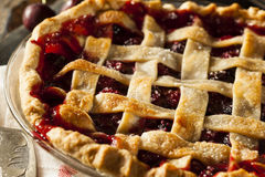 Delicious Homemade Cherry Pie Royalty Free Stock Photography