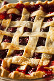 Delicious Homemade Cherry Pie Stock Images