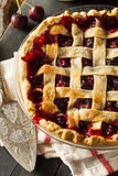 Delicious Homemade Cherry Pie Royalty Free Stock Photo