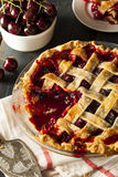 Delicious Homemade Cherry Pie Royalty Free Stock Photos