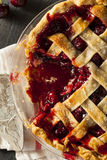 Delicious Homemade Cherry Pie Royalty Free Stock Image