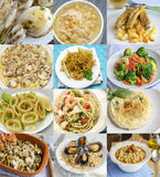 Delicious homemade dishes Royalty Free Stock Images