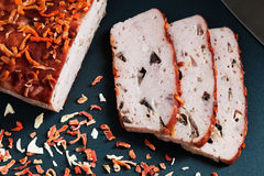 Delicious Homemade Ham Royalty Free Stock Image