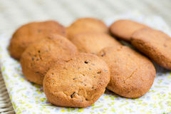 Delicious homemade healthy vegan cookies Stock Images