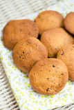 Delicious homemade healthy vegan cookies Royalty Free Stock Photo