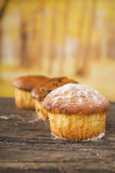 Delicious homemade muffin cake dessert cupcake Royalty Free Stock Image