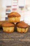 Delicious homemade muffin cake dessert cupcake Stock Photography