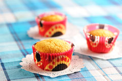 Delicious homemade muffins Royalty Free Stock Photo