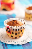 Delicious homemade muffins Stock Photo