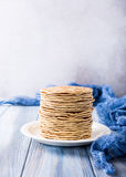 Delicious homemade pancakes Stock Image