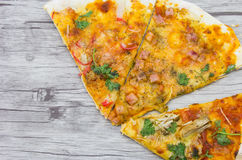 Delicious homemade pizza Royalty Free Stock Image