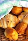 delicious homemade rolls royalty free stock photos