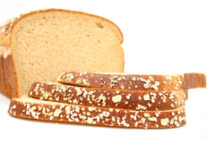 Delicious Honey Wheat Bread stock images