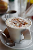 Delicious hot chocolate Royalty Free Stock Images