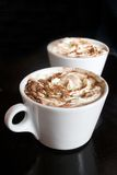 Delicious hot chocolate Stock Photography