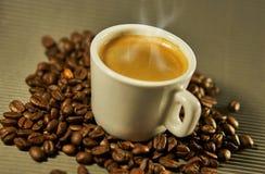 Delicious hot coffee Stock Photos