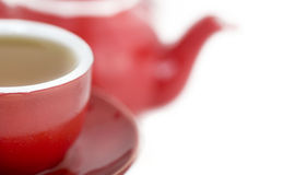 Delicious hot cup of tea Royalty Free Stock Photos