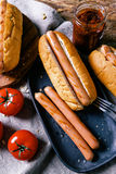 Delicious hot dog Royalty Free Stock Images