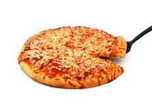 Delicious hot pizza Royalty Free Stock Image