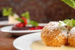Delicious hungarian dessert closeup Stock Photography