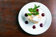 Delicious hungarian dessert Stock Photo