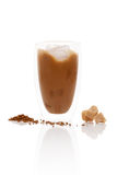 Delicious ice coffee. Stock Images