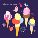 Delicious ice cream Stock Photo