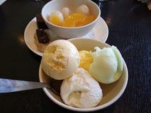 A delicious ice cream royalty free stock photo