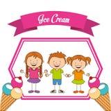 Delicious ice cream Royalty Free Stock Image