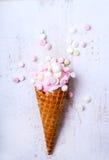 Delicious ice cream Royalty Free Stock Photos