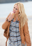 Delicious icecream Royalty Free Stock Photography