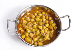 Delicious Indian Chole Stock Photo