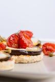 Delicious italian appetizer Royalty Free Stock Photos