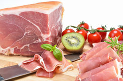 Delicious Italian ham Royalty Free Stock Photo